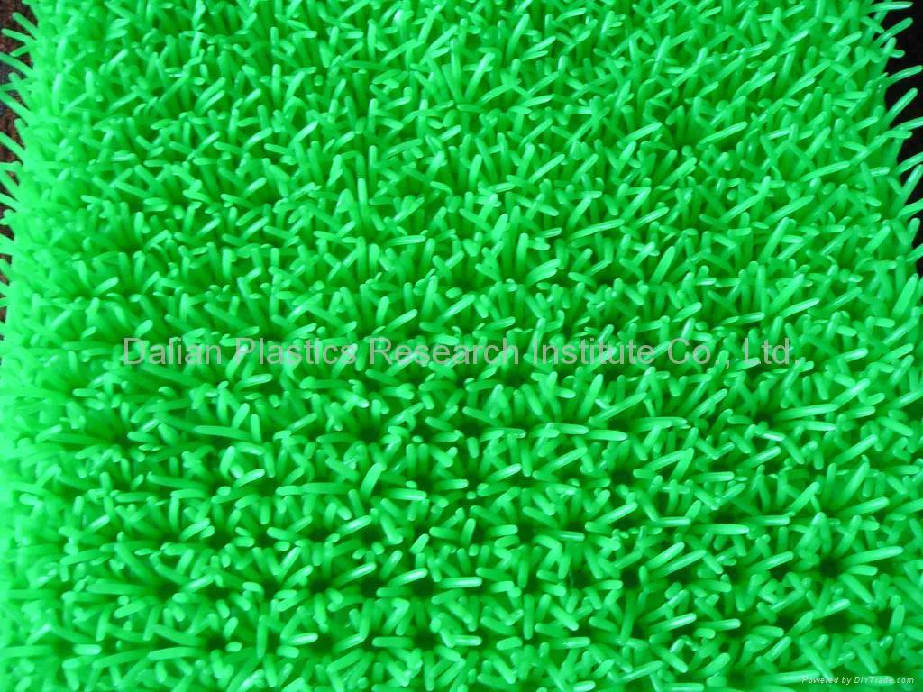 人工塑料草坪墊生產線 5