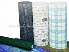PVC 发泡防滑垫生产线