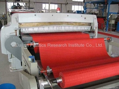PVC calendering floor mat machine