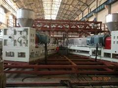 HDPE geomembrane machine