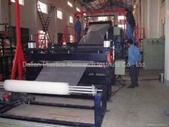HDPE塑料土工網生產線