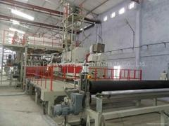 PVC 燈箱布生產線