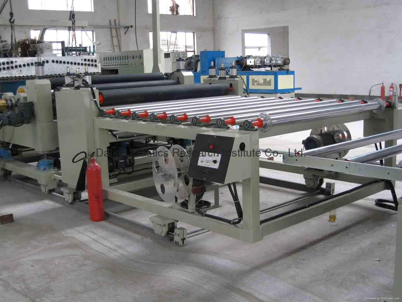 PVC压延地板垫设备 1