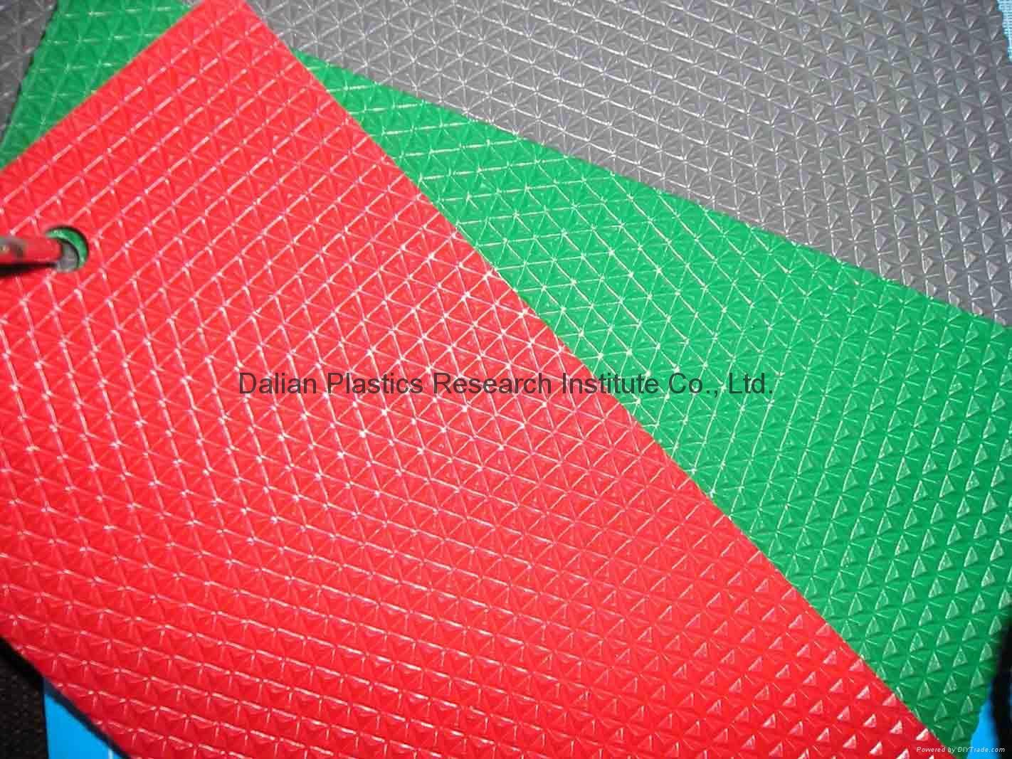 PVC压延地板垫设备 5