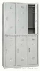 鐵皮2門衣櫃