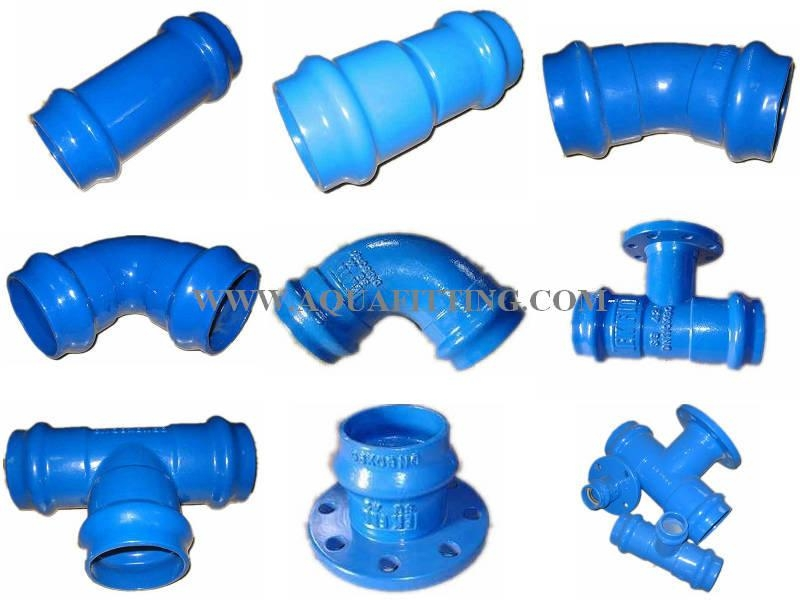 Iron Fittings for PVC Pipe 1