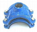 Saddle Clamp for Ductile Iron Pipe 1
