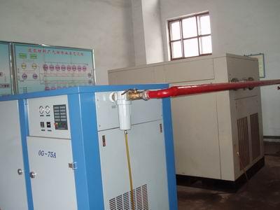 10m3和20m3空壓機使用現場