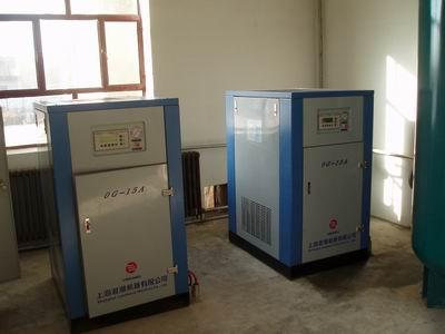 OGLC15A螺杆式空氣壓縮機使用現場 1