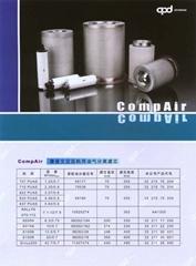 康普艾空壓機用油氣分離濾芯