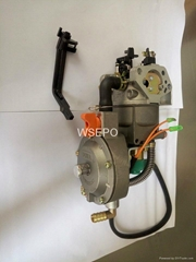 multi-use(LPG/LNG/Propane/Gasoline)Carburetor fits GX390/GX420 5~8KW Generator