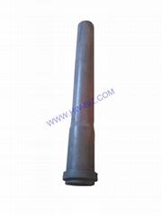 Ceramic Stalk Riser Tubes NSIC Pipes for Alloy Car wheel machine