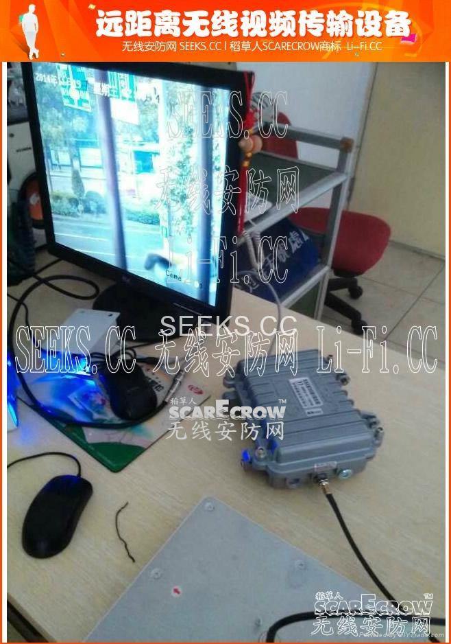 工业级数字网络视频信号无线传输器 2