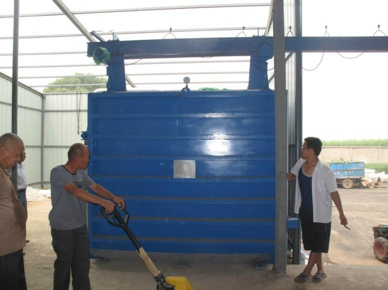 Fruit and vegetable vacuum cooling equipment
