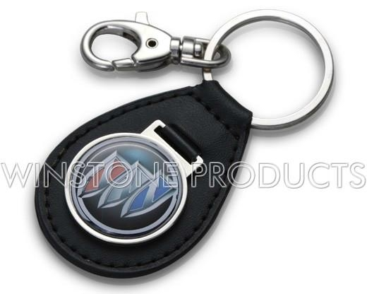 Leather Key Chain with Automobile Logo  2