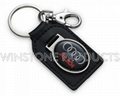 Leather Key Chain with Automobile Logo  3