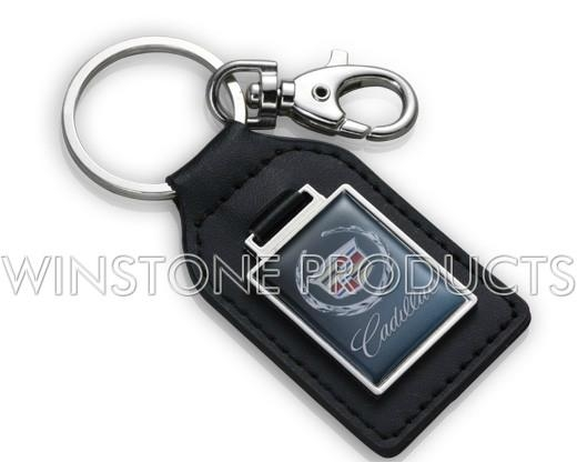 Leather Key Chain with Automobile Logo  4