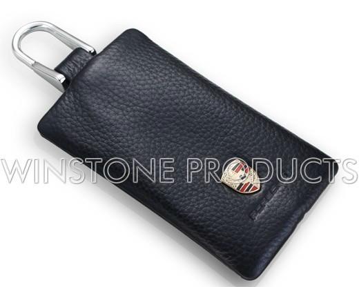 Car Logo Leather Key Bag  1