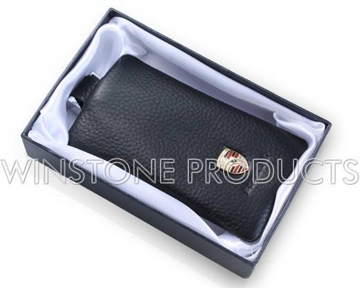 Car Logo Leather Key Bag  2