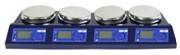 4联磁力搅拌机加热