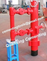 """5"""" drilling pipe cementing head"""