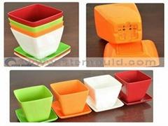 plastic flower pot mold