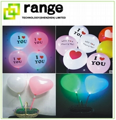 Decoration led light balloon inflatable balloon for party