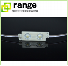 2 5050 LED White module with lens