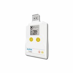 Alpha TD80 乾冰溫度記錄儀 溫度記錄儀 液氮溫度記錄儀