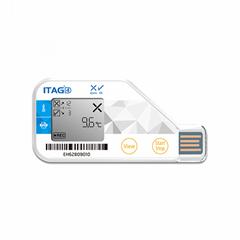 ITAG4 冷链藏运输PDF一次性冷链温度记录仪记录标签卡符合航空FDA