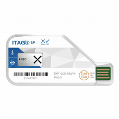 ITAG4 SP 冷链藏运输PDF一次性冷链温度记录仪记录标签卡符合航空FDA