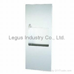 BTD-1201SS Recessed Stainless Steel Paper Towel Dispenser