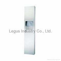 BTD-1202SS Recessed Stainless Steel Paper Towel Dispenser