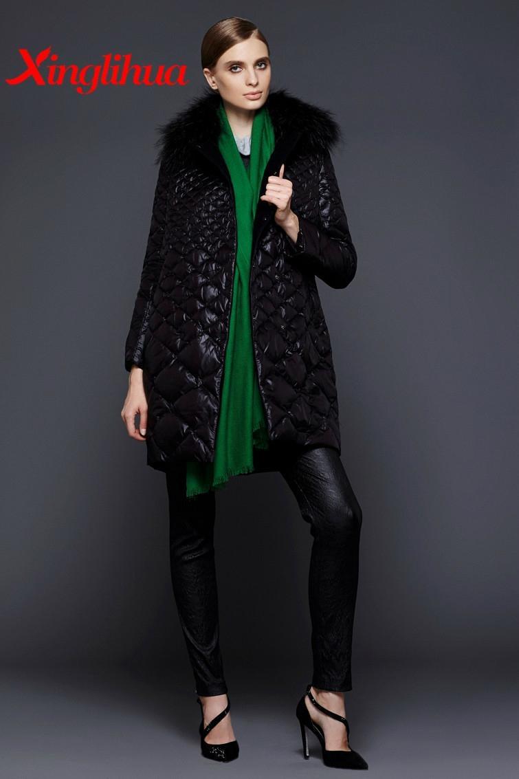 2015 custom stand collar long sleeve winter down jacket 2