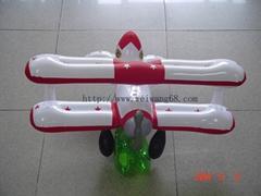 充氣飛機模型