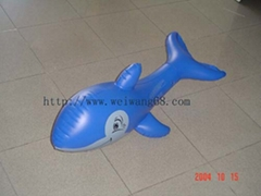 inflatable dolphin,PVC toy