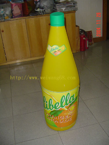 inflatable promotional  bottle 1