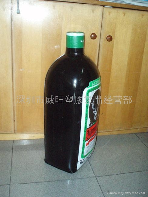 inflatable promotional  bottle 4