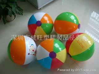 beach ball , inflatable ball  4