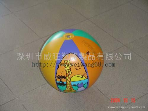 Inflatable Fish Inflatable Toys Beach Ball W3016