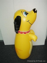 inflatable toy / inflatable dog / pvc toy