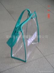 EVA package bag   plastic bag,cosmetic bag