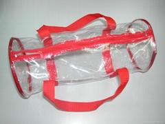 pencil  bag / plastic ba