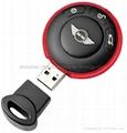 Mini cooper key usb flash drive