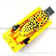 transformer leopard usb flash disk