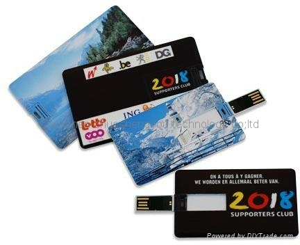 credit card usb flash disk 5