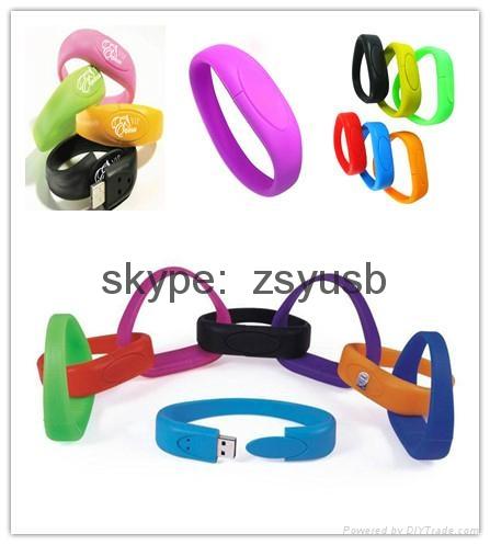 wristband usb flash driver 1