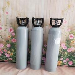 供应4升8升标准气二氧化硫地质侦探地震检测标准气瓶