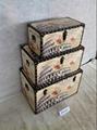 Building wooden box for indoor