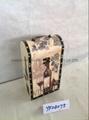 vintage wooden wine box  3